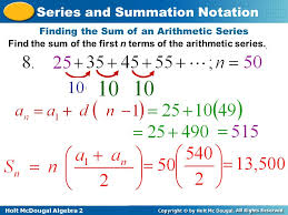 essential questions series and summation notation ppt download
