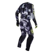 troy lee motocross gear troy lee designs 2016 cosmic camo se jersey and pants package