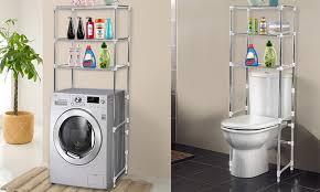 Bathroom Laundry Storage Laundry Or Bathroom Storage Rack Groupon Goods