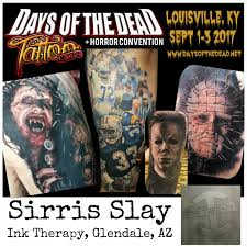 days of the dead tattoo expo