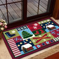 Gingerbread Rugs Kitchen Inspiring Christmas Kitchen Rugs Small Christmas Rugs