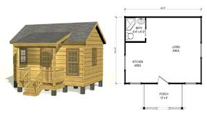 small hunting cabin floor plans free plans diy free download how