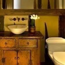 phoenix lighted bathroom mirror powder room rustic with hide black