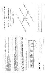 mosley mosley rv 4c vertical antenna service manual download