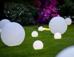 led spheres event styling the events company