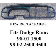dashboard dodge ram 1500 replacement dodge ram dash dashboard bezel replacement radio instrument