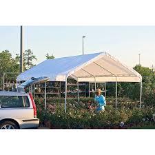 Rt Brand Canopy Shelterlogic 20 X 10 Ft All Purpose Canopy 8 Leg Hayneedle