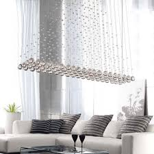 Crystal Drops For Chandeliers New Modern Led Crystal Pendant Lamp Ceiling Lighting Raindrop