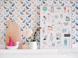 chambre enfant papier peint déco chambre bébé papier peint enfant room