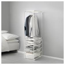 storage shelves with baskets basket and frame storage algot system ikea
