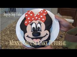 Cake Diy Minnie Mouse Cake Tutorial Step By Step Video By Cup