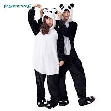 pyjamas panda onesies for adults sleep lounge pajamas panda