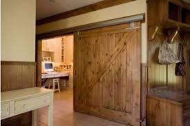 Sliding Wooden Doors Interior Sliding Barn Doors The Safe Alternative New Hardware