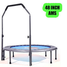 Mini Trampoline With Handrail Mini Trampoline Fitness Reviews Online Shopping Mini Trampoline