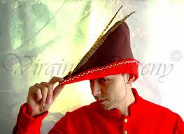como hacer un sombrero de robin hood en fieltro virginia disseny abril 2014