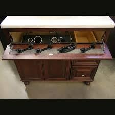 false panel false front hair tool organizer under sink