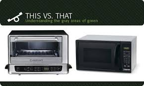 How A Toaster Oven Works Microwave Or Toaster Oven Which Is The Greener Kitchen Gadget
