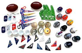 football favors 50 football themed party favors mix edison novelty