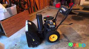 manual u0026 starting cord 10hp mtd yard man showthrower with