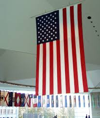 Hanging American Flag Vertically File National Constitution Center Flags Jpg Wikimedia Commons