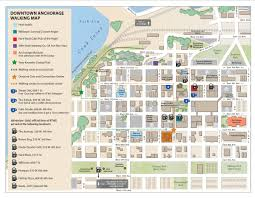 Map Your Run Anchorage Walking Map Adventure Travel Trade Association