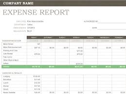 Microsoft Excel Report Templates Weekly Expense Report For Microsoft Excel