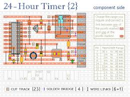 how to build two cmos based 24 hour timers circuit diagram