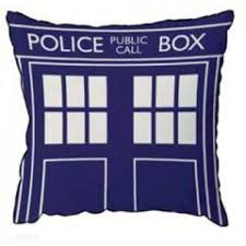 home decor home garden bbc shop doctor who tardis cushion