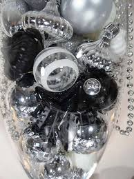 black silver and white new year s evite
