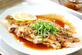 fish cuisine hongeojjim steamed skate fish bapsang