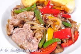 cuisine steak สเต กเน อสไลด ซอสไวน แดง sliced beef steak with wine sauce