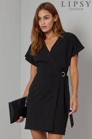 black dress uk wrap dresses for women wrap around dress next uk