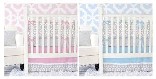 Pink And Blue Girls Bedding by Pink And Blue Crib Bedding For Girls U2013 Caden Lane