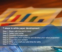 write white paper how to write an effective white paper andrea cheng step 1 begin with the end in mind