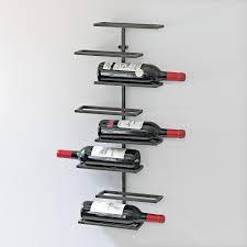 Single Wine Bottle Holder by Wall Mounted Wine Rack Systems U0026 Hanging Wine Racks Wine Enthusiast