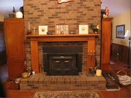 home decor prefabricated wood burning fireplace vertical