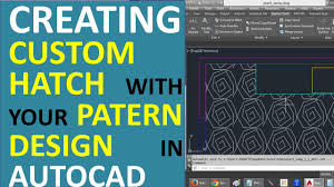 hatch pattern definition creating custom hatch with your own pattern design in autocad