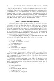 define objective statement introduction overview and recommendations occupational health page 4