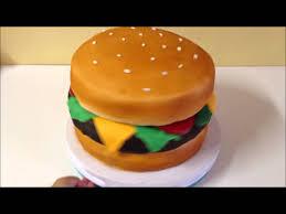 cheeseburger cake youtube