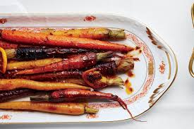Thanksgiving Carrots Harissa And Maple Roasted Carrots Recipe Epicurious Com