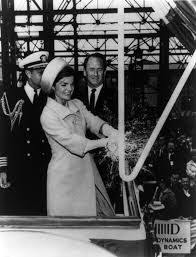 jacqueline kennedy file christening of uss lafayette by jacqueline kennedy cph