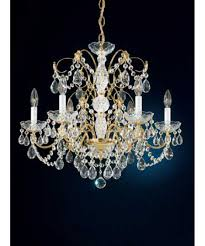 Crystal And Gold Chandelier Schonbek 1592 Madison 24 Inch Wide 6 Light Chandelier Capitol