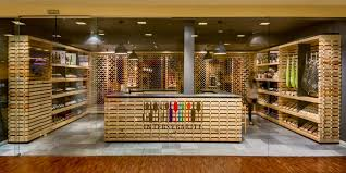 gourmet food shop mexico city wine shop makes excellent use of recycled wooden