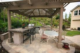 Bbq Patio Designs Outdoor Kitchens Gallery Western Outdoor Design And Build Serving