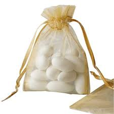 gold organza bags 10 pack 3x4 gold organza drawstring party favor gift pouch candy
