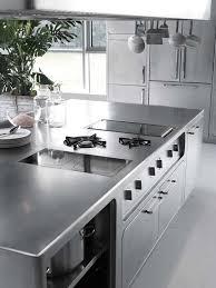 edelstahl küche edelstahl küche abimis prisma kochplatte arbeitsplatte profi koch