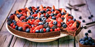 jeux de cuisine tarte au chocolat tarte au chocolat et fruits rouges recettes femme actuelle