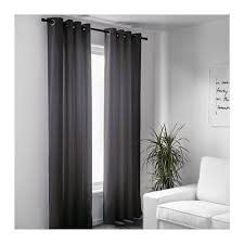 Thick Black Curtains Sanela Curtains 1 Pair Gray Gray 55x118 Velvet Curtains