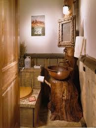 rustic bathroom ideas for small bathrooms bathroom wooden bowl sink ideas for rustic bathroom with stylish