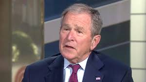 george w bush opens up on trump u0027s war with the media travel ban